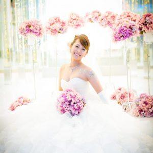 ウェディング 花嫁様の笑顔