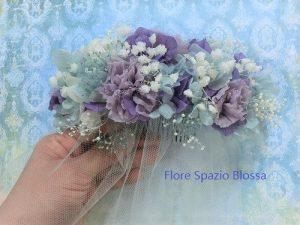 花嫁様の髪飾り・プリザーブドフラワー オーダーメイドのご注文