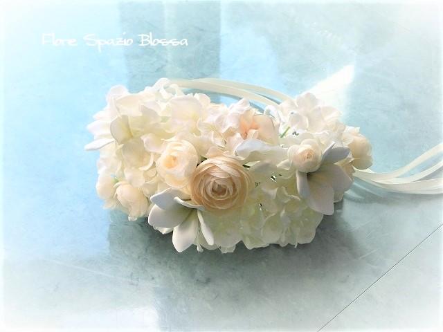 アームレット 腕の花飾り