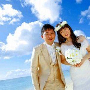 リゾートウェディング 花嫁様の笑顔