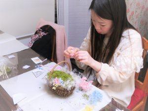 プレ花嫁様♡リングピロー手作り プリザーブドフラワー