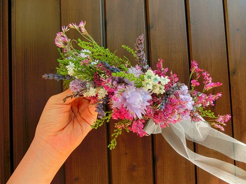 花冠・ドライフラワー&プリザーブドフラワー名古屋瑞穂区ブーケ&フラワー教室Blossa