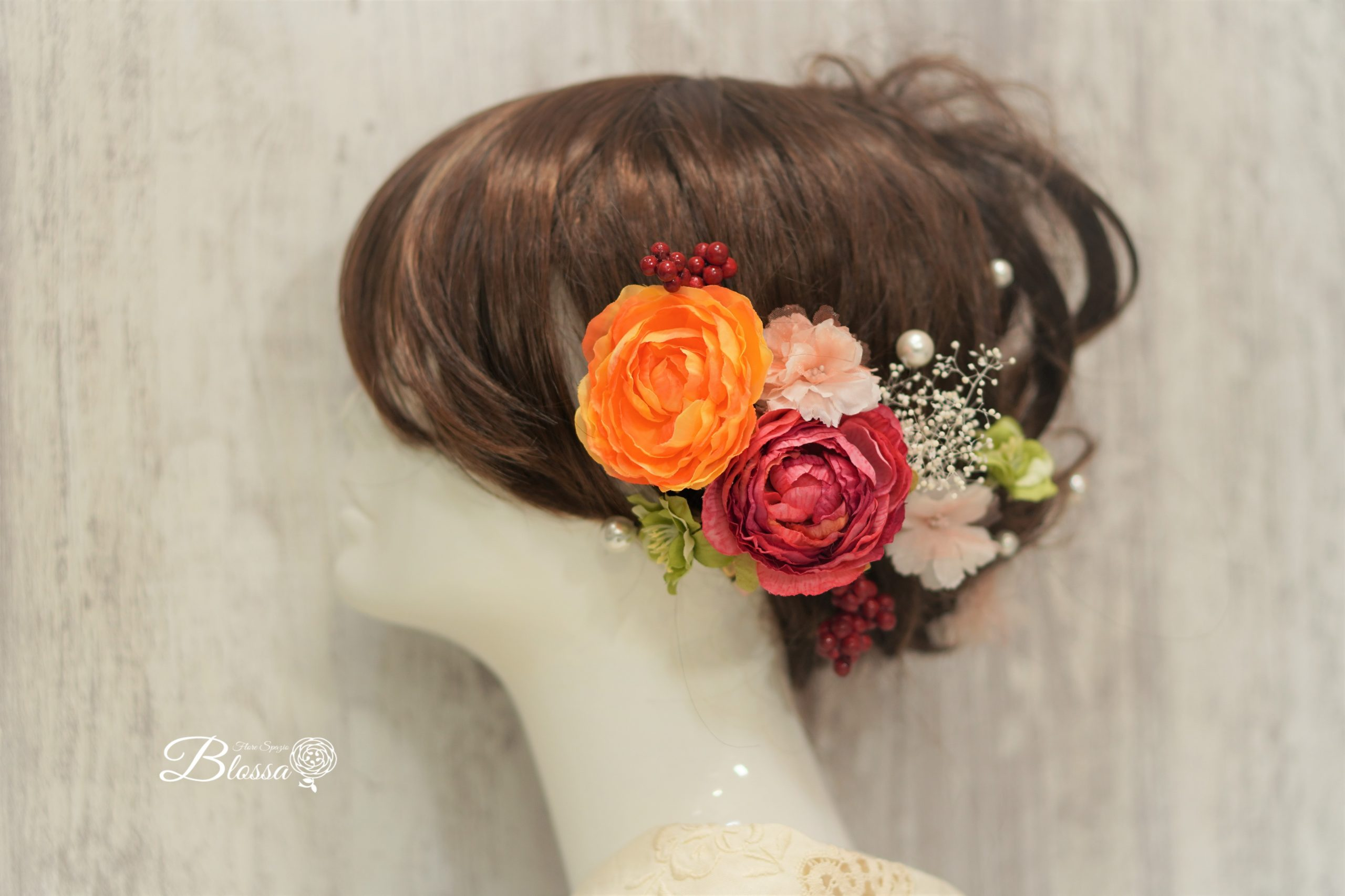 成人式ヘアーピン・髪飾り・和装